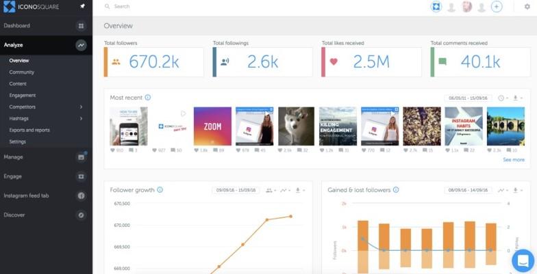 Las 10 mejores herramientas de analítica de Instagram
